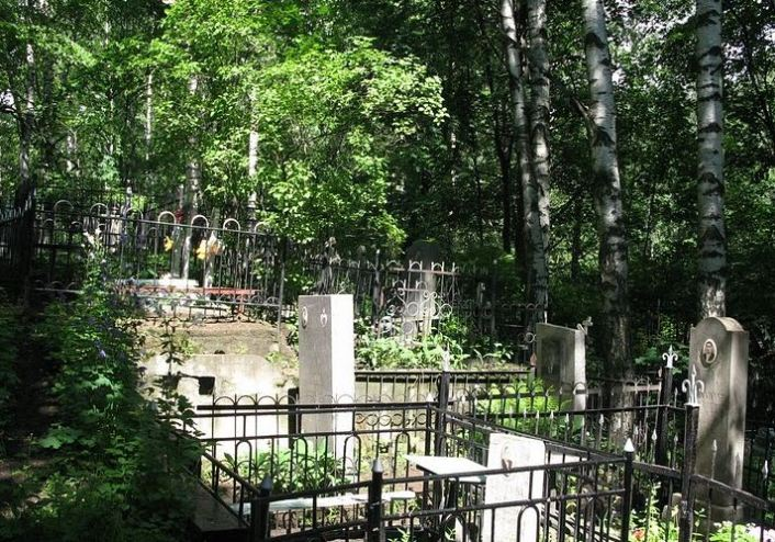 Пороховское кладбище в Красногвардейском районе
